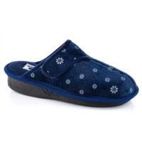 נעלי בית נשים דגם לילך קטיפה פרג