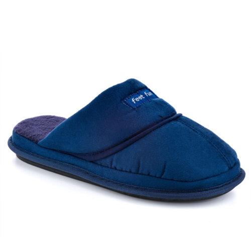 נעלי בית גברים דגם מני דמוי עור