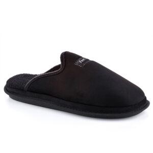 נעלי בית גברים דגם גיל דמוי עור